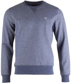 Gant The Original C-Neck Sweat Pullover Blue Melange