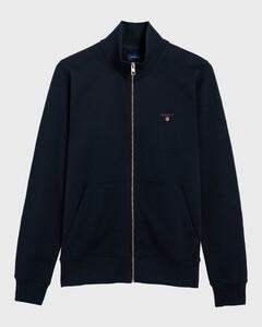 Gant The Original Full Zip Cardigan Vest Avond Blauw