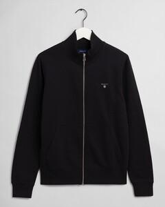 Gant The Original Full Zip Cardigan Vest Zwart