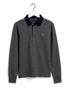 Gant The Original Heavy Rugger Pullover Anthracite Grey