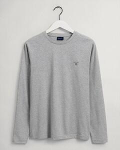 Gant The Original Long Sleeve T-Shirt Licht Grijs