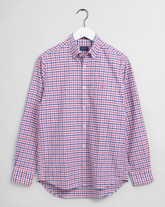 Gant The Oxford 2 Color Gingham Overhemd Paradise Pink