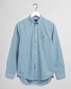 Gant The Oxford 2 Color Gingham Shirt Leaf Green