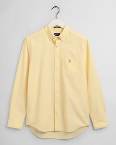 Gant The Oxford Shirt Overhemd Brimstone Yellow