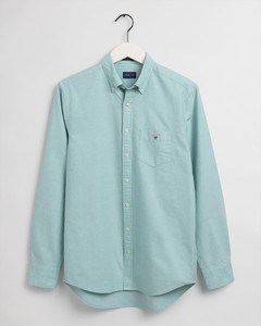 Gant The Oxford Shirt Overhemd Green Lagoon