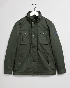 Gant The Padded Four Pocket Jacket Jack Thyme Green