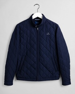 Gant The Quilted Windcheater Jack Evening Blue