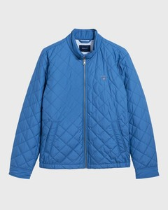 Gant The Quilted Windcheater Jack Poseidon Blue
