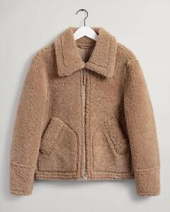 Gant The Shearling Jacket Jack Warm Khaki