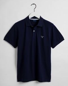 Gant The Summer Pique Polo Polo Avond Blauw