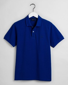 Gant The Summer Pique Polo Poloshirt College Blue