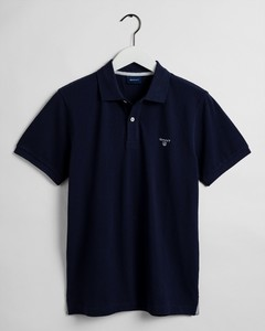 Gant The Summer Pique Polo Poloshirt Evening Blue