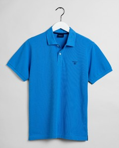 Gant The Summer Pique Polo Poloshirt Pacific Blue