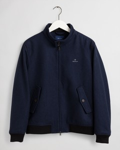 Gant The Wool Herrington Jacket Jack Marine