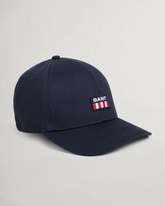 Gant Twill Cap Retro Shield Cap Avond Blauw