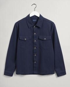 Gant Twill Utility Shirt Shirt Evening Blue