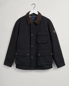 Gant Waxed Hunter Jacket Jack Soil Green