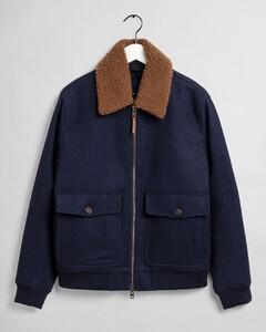 Gant Wool Flight Jacket Jack Marine