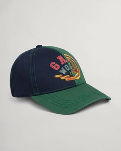 Gant World Crest Cap Cap Eden Green