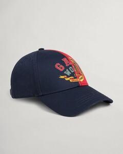 Gant World Crest Cap Cap Marine