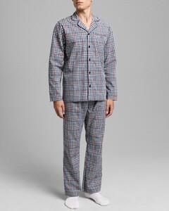 Gant Woven Pajama Set Nightwear Classic Blue