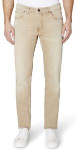 Gardeur BATU-2 Modern-Fit 5-Pocket Jeans Jeans Beige