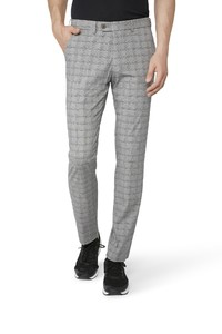 Gardeur Benny-11 Check Pants Mid Grey