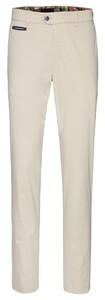 Gardeur Benny-3 Contrasted Pima Cotton Flex Pants Beige