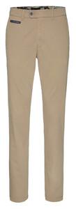 Gardeur Benny-3 Contrasted Pima Cotton Flex Pants Camel
