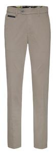 Gardeur Benny-3 Contrasted Pima Cotton Flex Pants Mid Grey