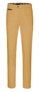 Gardeur Benny-3 Contrasted Pima Cotton Flex Pants Ocher