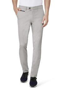 Gardeur Benny-3 Cotton Uni Broek Midden Grijs