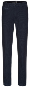 Gardeur Benny-6 Country Cord Stretch Corduroy Trouser Mid Blue