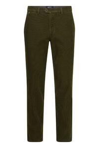 Gardeur Benny Corduroy Corduroy Trouser Dark Olive Green