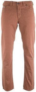 Gardeur Bevio Contrast Stitch 5-Pocket Pants Brique