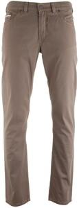 Gardeur Bevio Contrast Stitch 5-Pocket Pants Mid Brown