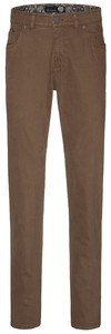 Gardeur Bill-2 Cashmere Cotton 5-Pocket Broek Licht Bruin