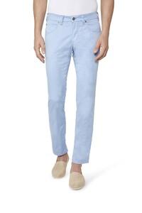 Gardeur Bill-3 Cotton Silk Broek Licht Blauw