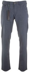 Gardeur Bill-3 Fine-Structure Jeans Broek Midden Blauw