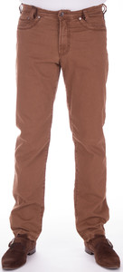 Gardeur Cashmere Cotton Stretch Pants Mid Brown