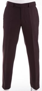 Gardeur Clima Wool Dik Pants Dark Brown Melange