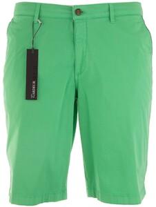 Gardeur Jasper-8 Uni Fine Contrast Bermuda Licht Groen