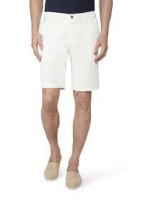 Gardeur Jasper-8 Uni Fine Contrast Bermuda Off White Melange