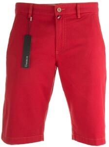 Gardeur Jasper Flat-Front Stretch Cotton Bermuda Bermuda Red