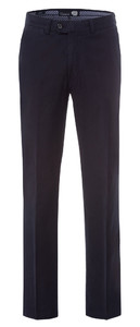 Gardeur Linnen Mix Flat Front Pants Navy