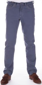 Gardeur Modern Rustic Cotton Stretch Pants Mid Blue
