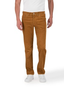 Gardeur Nevio-13 Corduroy Corduroy Trouser Mustard-Brown