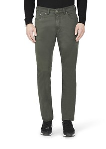 Gardeur Nevio-13 Cotton Flex Pants Dark Green