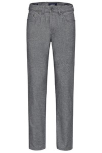 Gardeur Nevio-13 Ewoolution Wool Look Broek Licht Grijs
