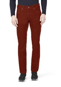 Gardeur Nevio-13 Pima Corduroy Corduroy Trouser Red Melange